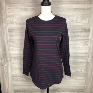 BP. Stripe Long Sleeve Shirt Size XS